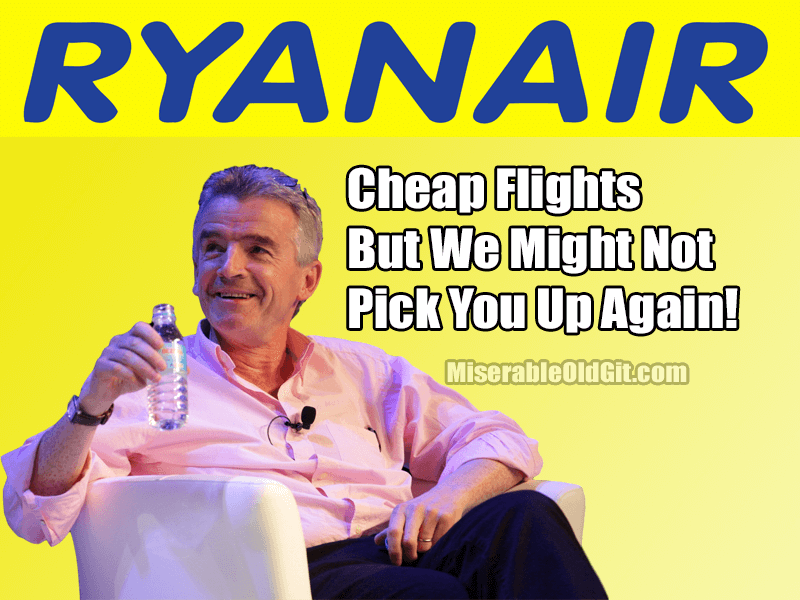 ryan air arseholes